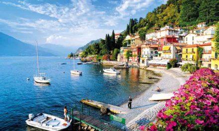Les grands lacs du nord de l'Italie