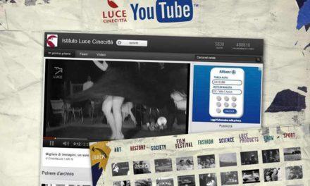 Su Youtube l'Archivio Storico LUCE