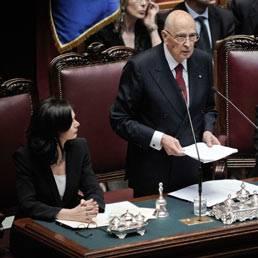 """Napolitano """"Imperdonabile nulla di fatto su riforme"""""""