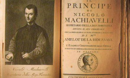 Quinto centenario de Il Principe di Machiavelli