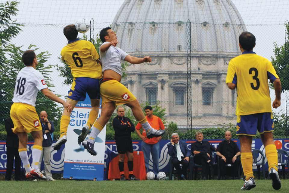 Il calcio anche in Vaticano