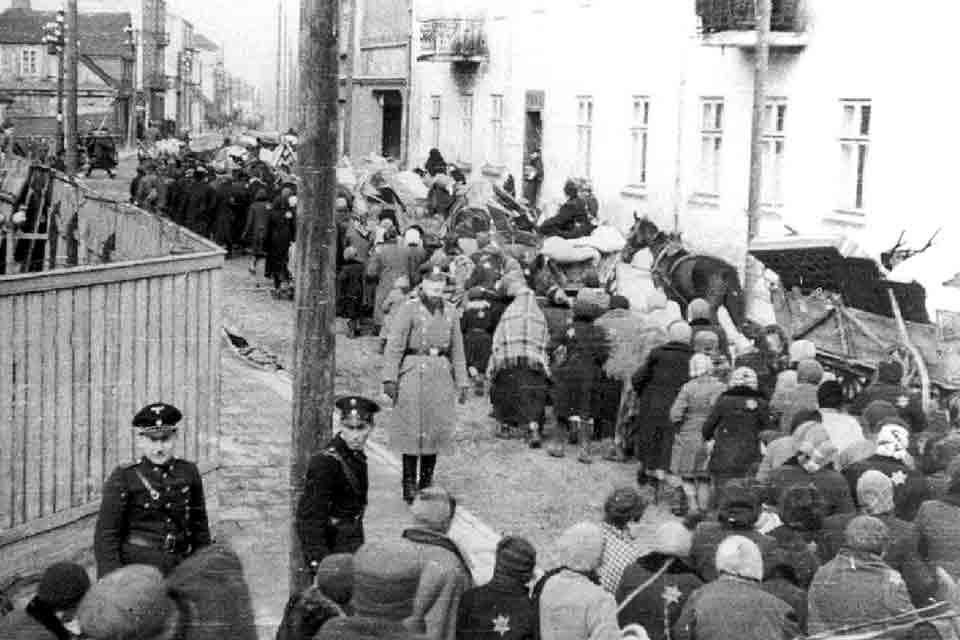 En souvenir des juifs du ghetto <BR />de Rome : Vingt Minutes