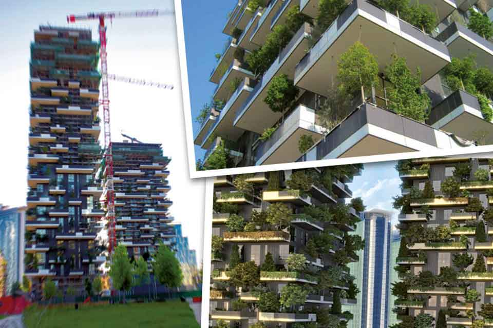 Un bosco verticale a Milano
