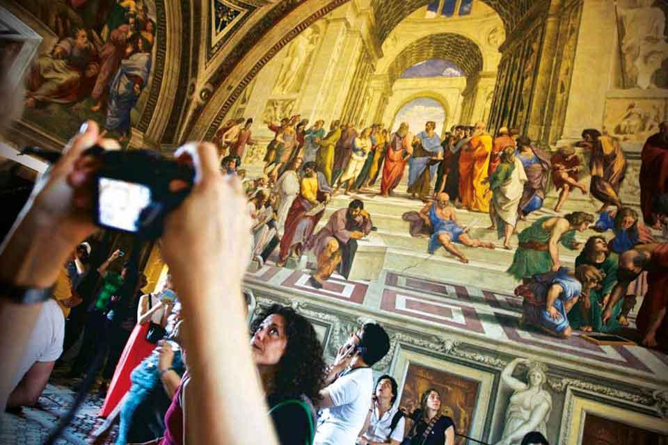 Dietro le quinte </br>dei Musei Vaticani