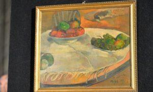 La tela di Paul Gauguin