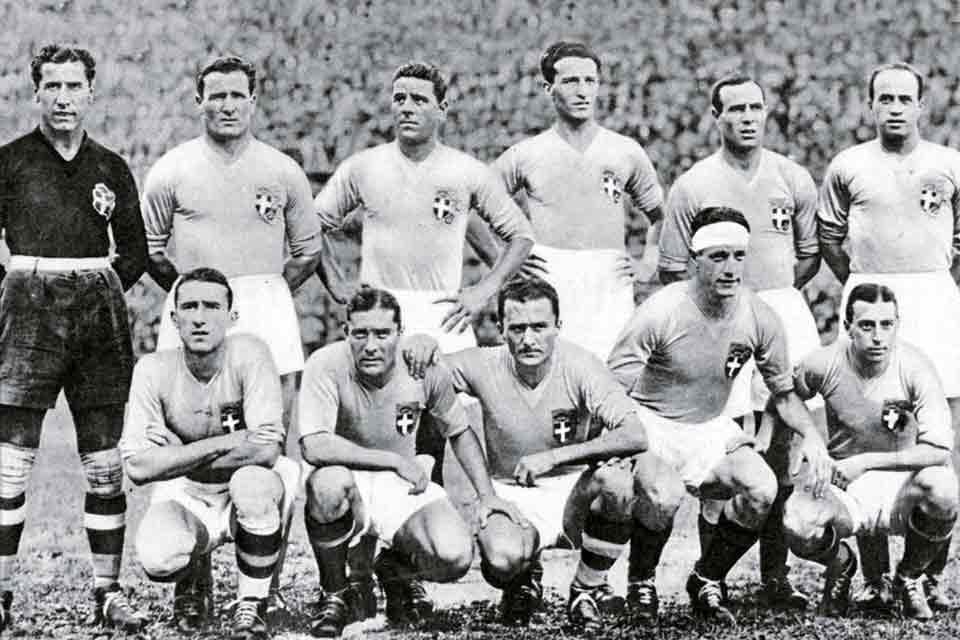 L'Italia ai Mondiali di Calcio – Parte 1 (1934-1974)