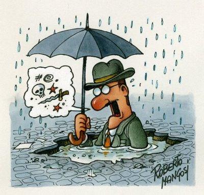 «Piove, governo ladro!»