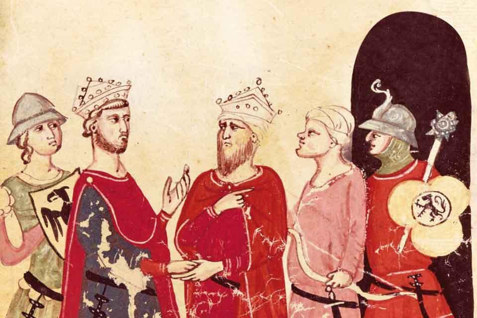 Frédéric II et le grand royaume</br> du Sud