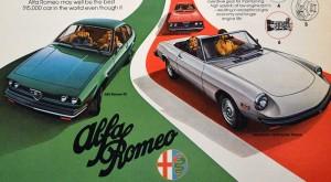 Publicité Alfa Romeo