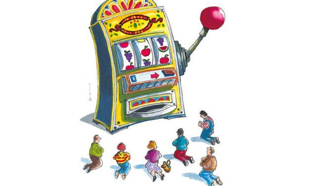 Il pozzo senza fondo</br> del gioco d'azzardo