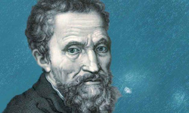 Michelangelo nella neve