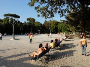 Parc de la villa Borghese (Photo PN)