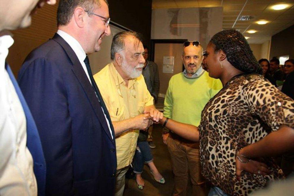 Francis Ford Coppola a Matera per incontrare gli immigrati