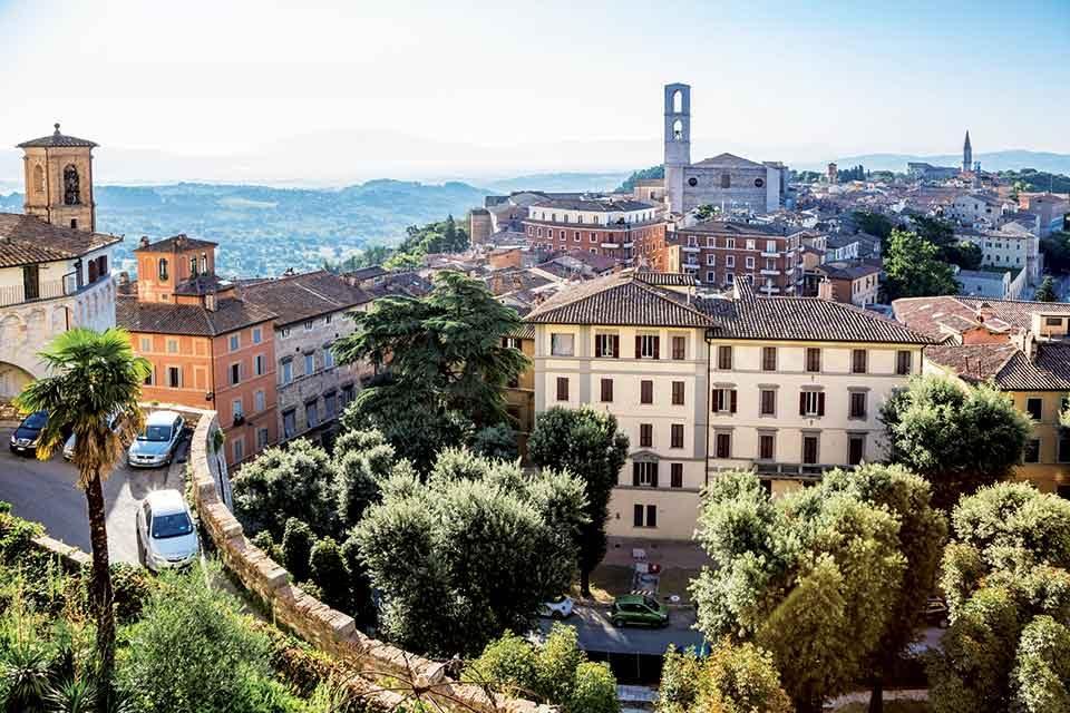 Perugia :du chocolat, </br>mais pas seulement