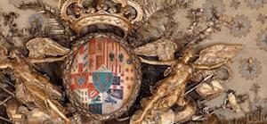 Lo stemma della real casa di Borbone