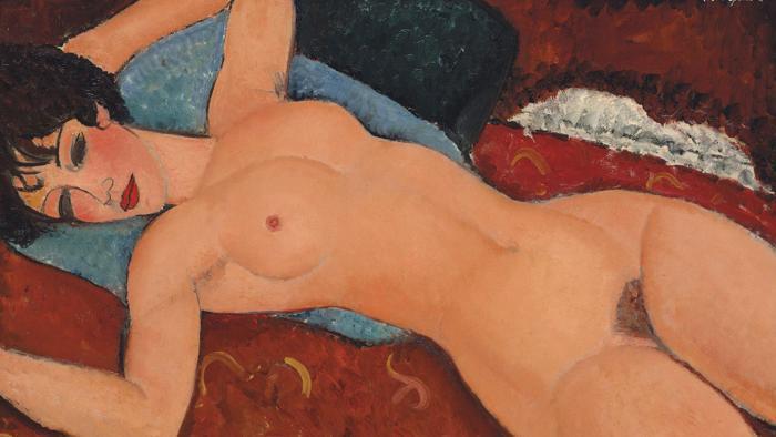 Modigliani all'asta: è il secondo quadro più costoso mai venduto.