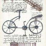 È vero che è stato Leonardo da Vinci</br> a inventare la bicicletta?