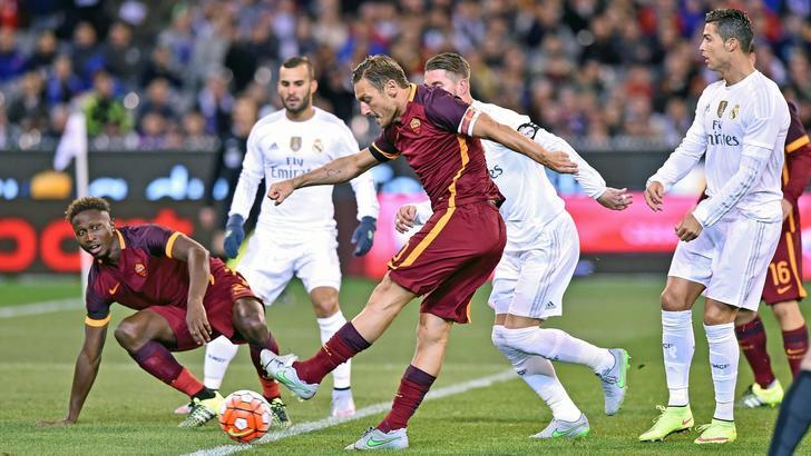 AS Roma-Réal de Madrid : droit au but et contrôle très orienté…