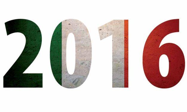 2016 : une année historique pour l'Italie