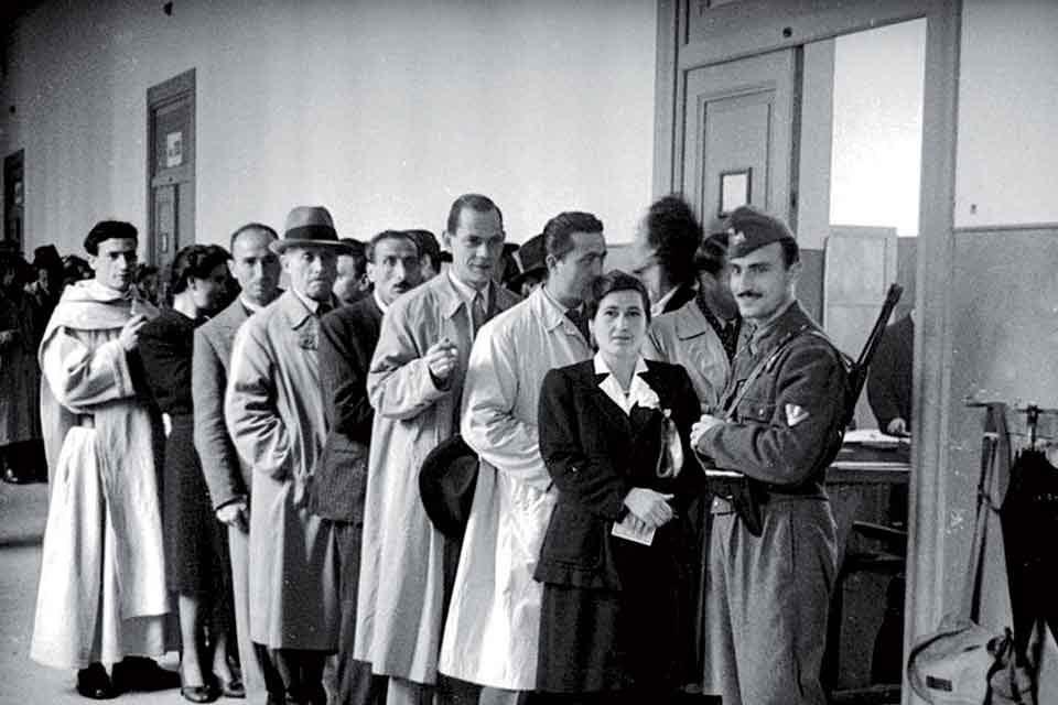 Le donne italiane al voto