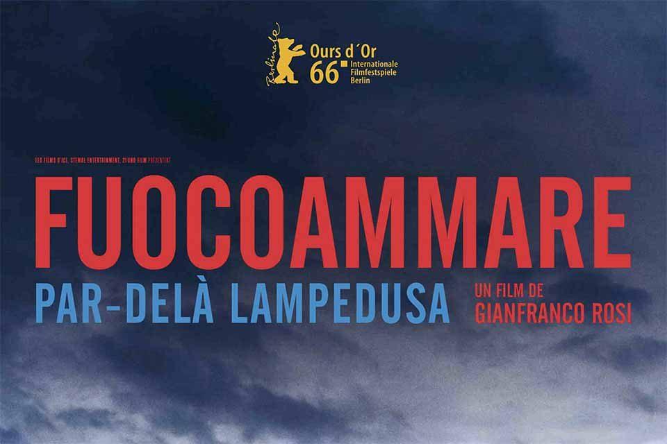 """Oscar: l'Italia candida """"Fuocoammare"""""""