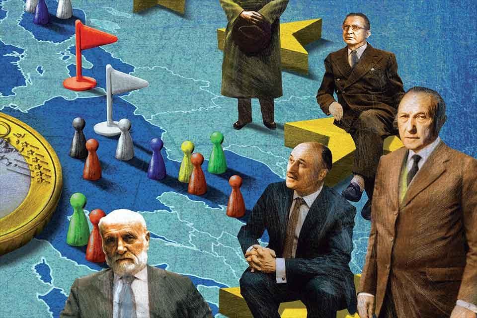 60 anni di Comunità europea. </br> Alle origini dell'Europa