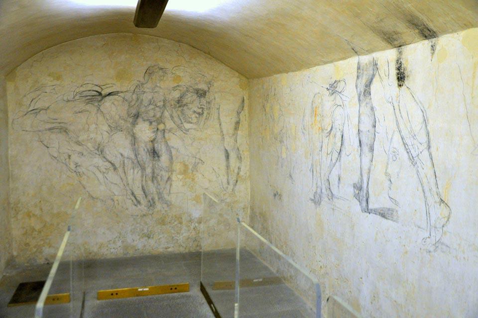 Stanze segrete di Michelangelo