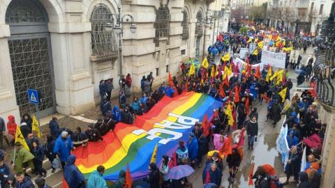 20mila contro le mafie a Foggia