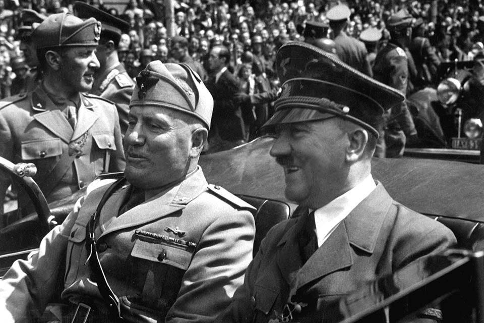 La visita del Führer a Roma: <br>correva l'anno 1938