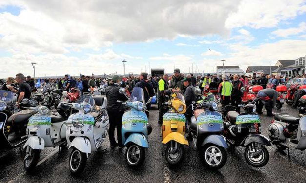 Vespa World Days – chiusura a Belfast
