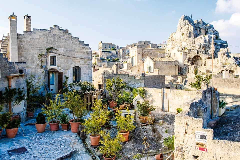Matera, pleins feux sur la ville troglodyte