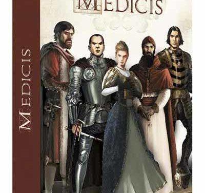 L'intégralité de la série «Médicis» dans un coffret de 5 volumes