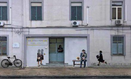 Un murales per Elena Ferrante