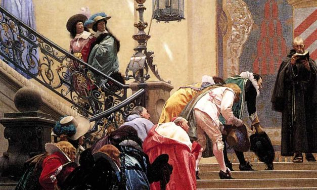La flagornerie, une vieille histoire