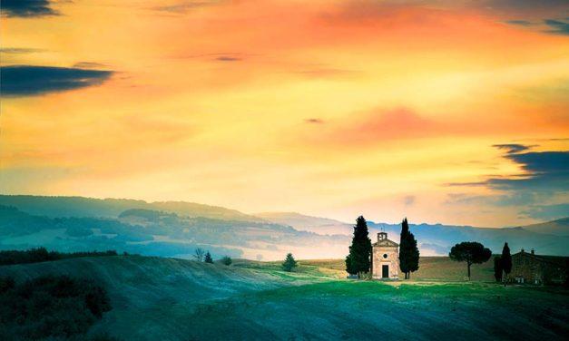 La Toscane des églises rurales