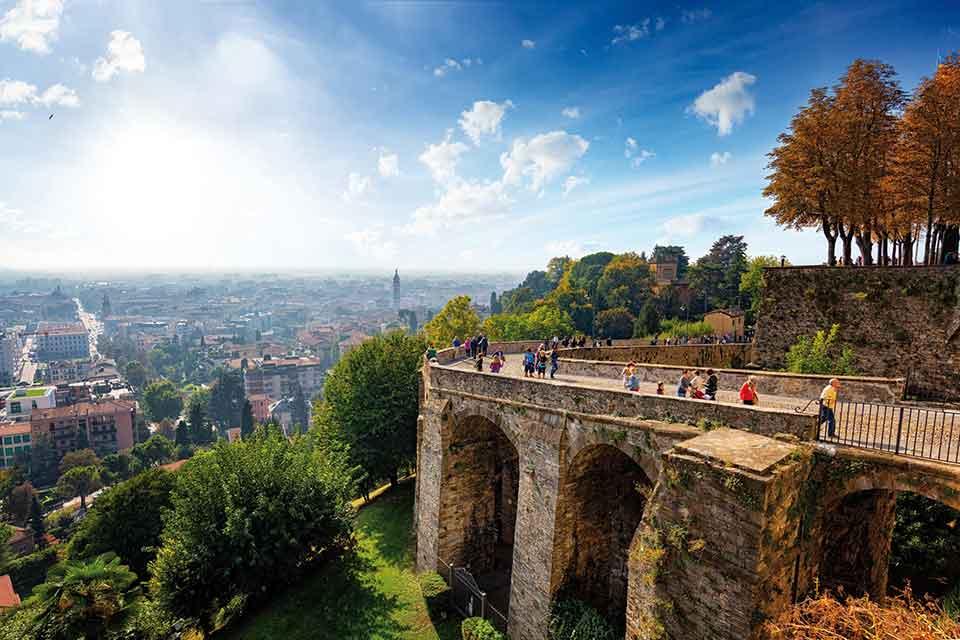 Bergamo: Le mura della Serenissima