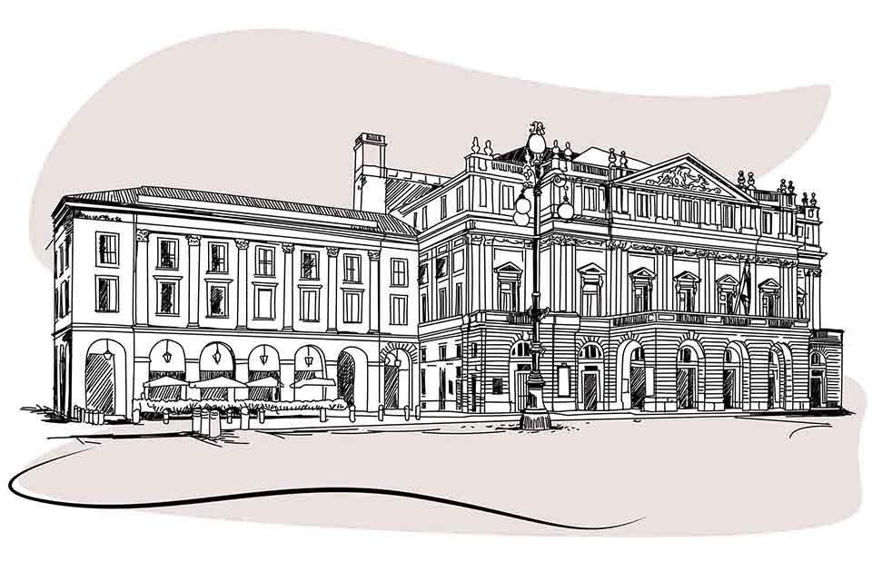 Perché il teatro alla Scala di Milano<br> si chiama così?