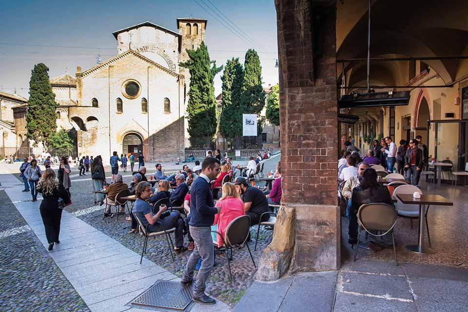 Les trésors des portiques de Bologne