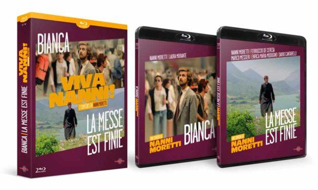 2 comédies irrésistibles de Nanni Moretti en DVD