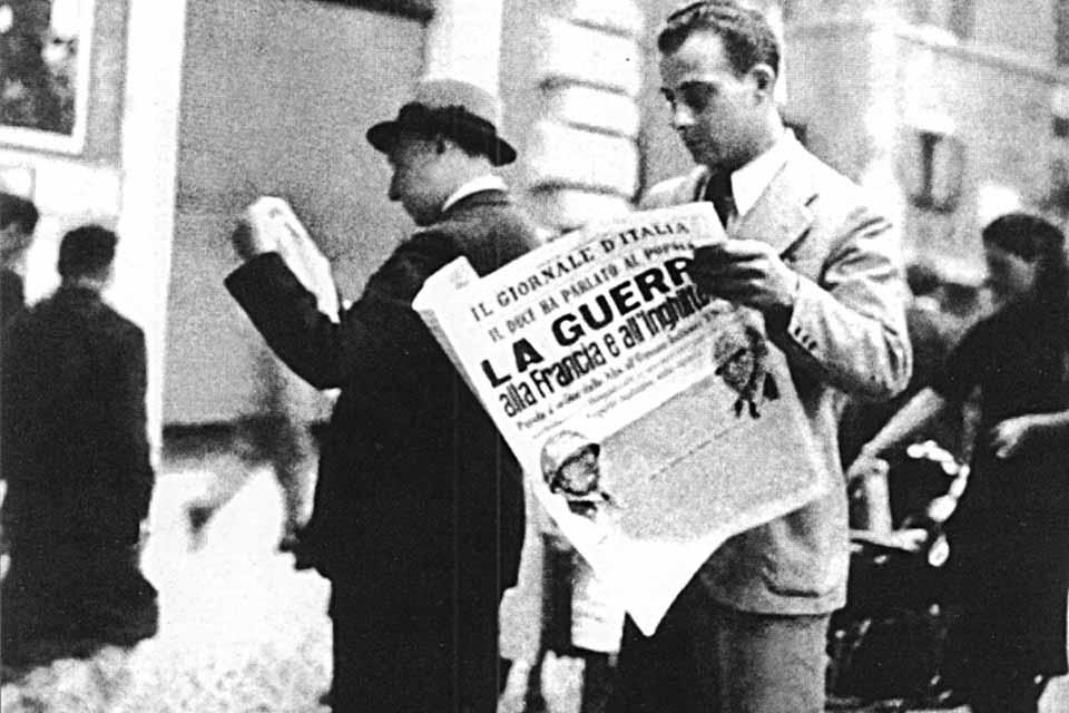 10 juin 1940 : L'Italie entre en guerre