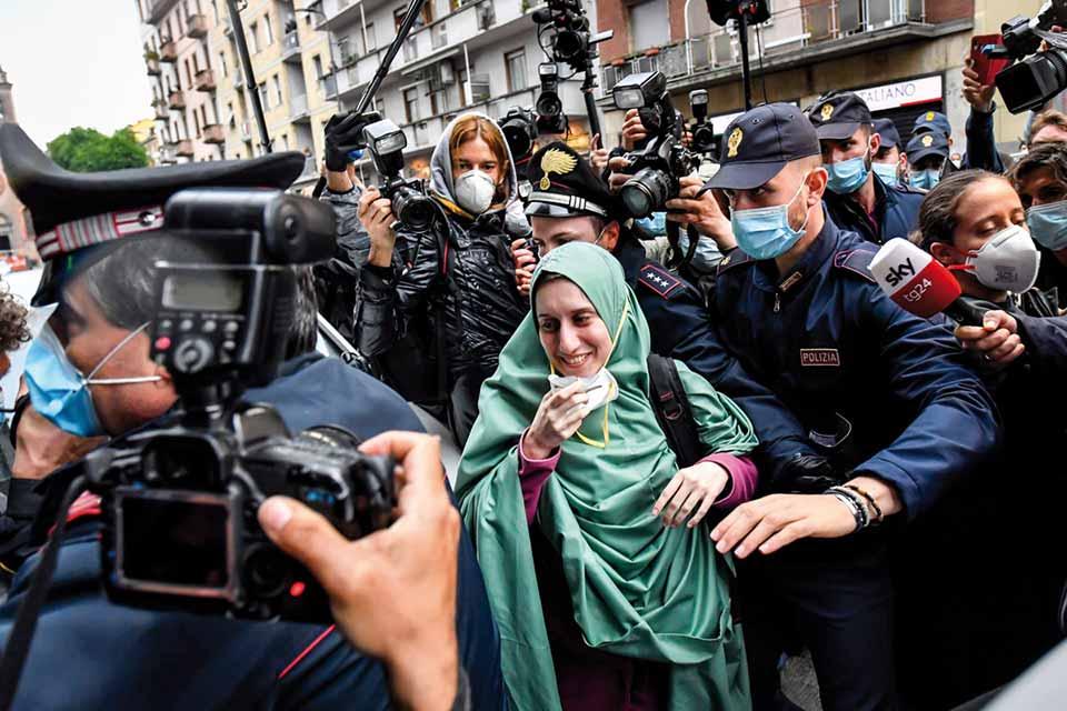 Italie, été 2020 <br>Portraits de femmes