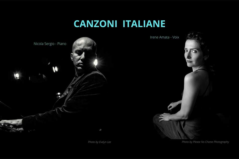 CANZONI ITALIANE – Concert à Paris le 24 septembre