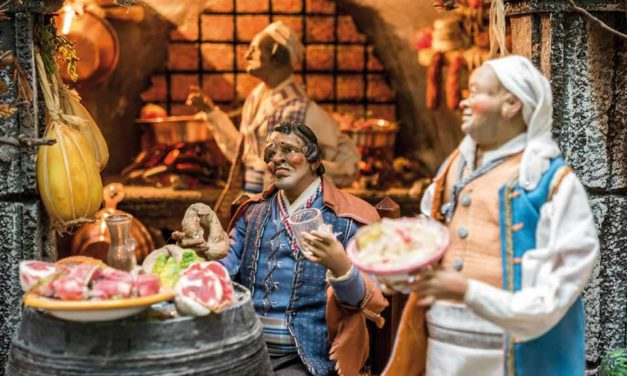 Il presepe di Napoli: <br> Santi, mercanti e nuovi eroi