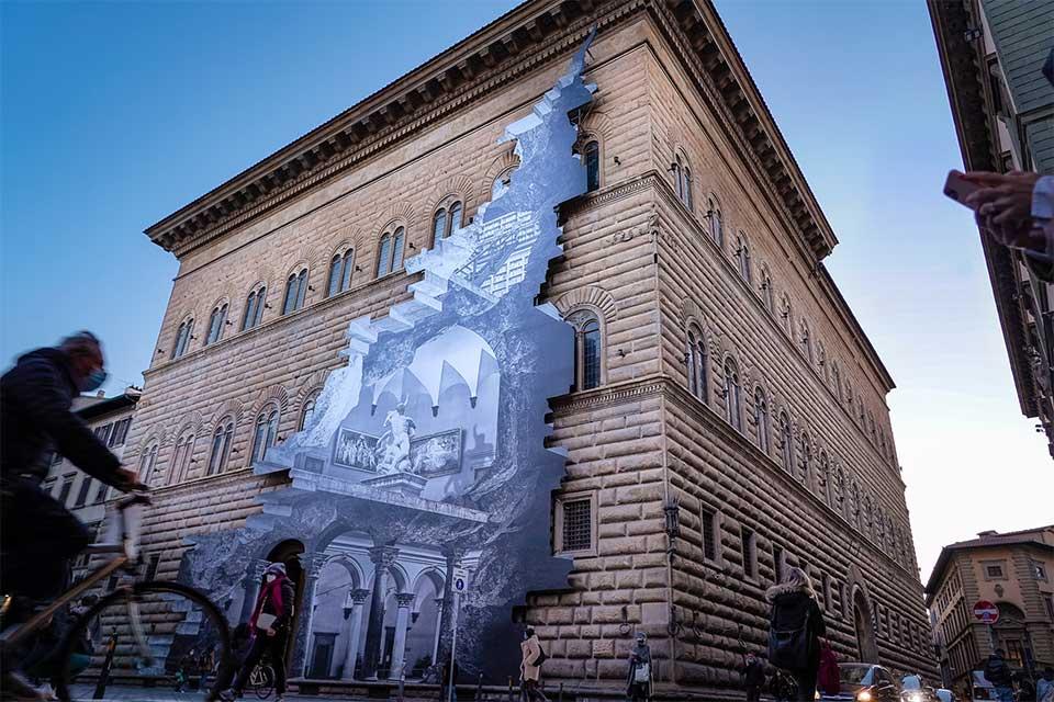 Street art à Florence : <br> La Ferita