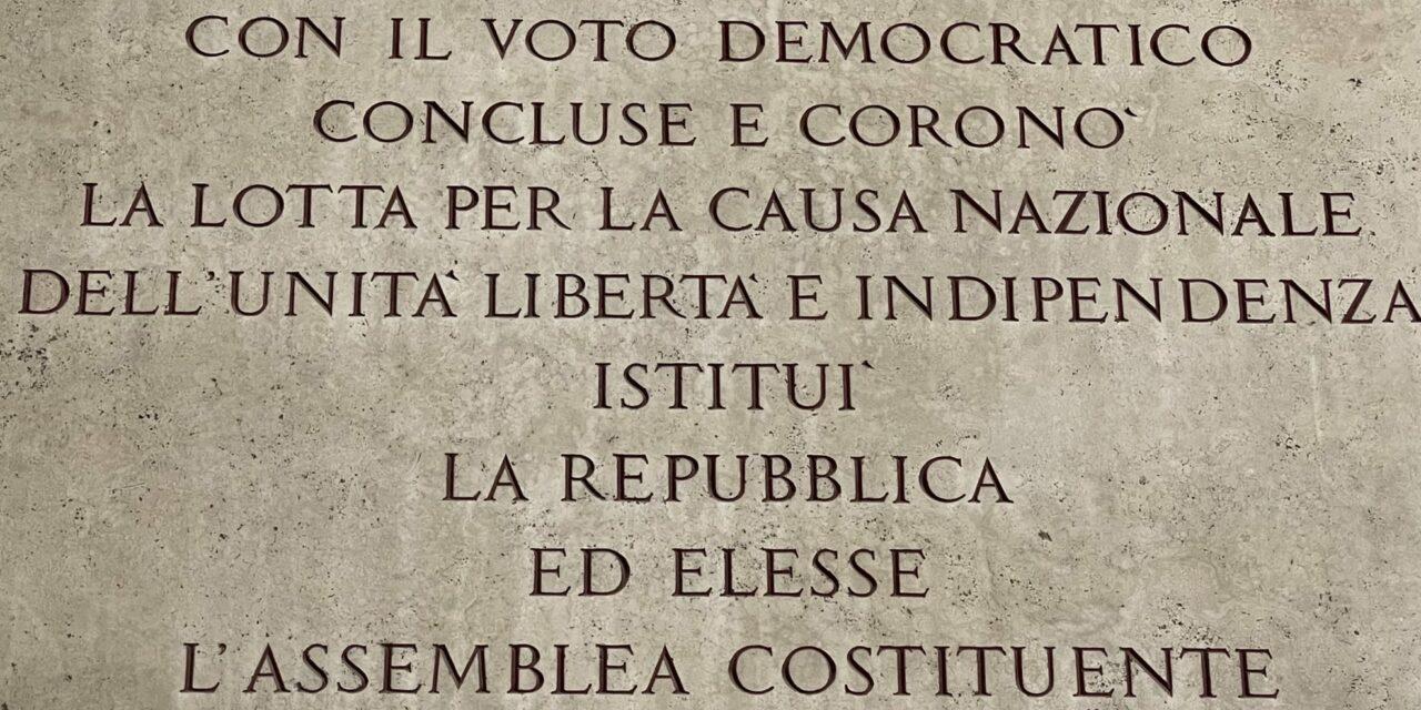 Pour une fête de la bonne République italienne