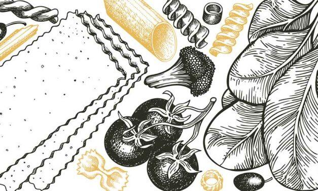 Gli italiani con il cibo<br> una storia d'amore